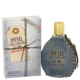 Fuel For Life Denim by Diesel Eau De Toilette Spray 1.7 oz - Men