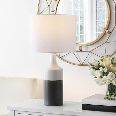 "SAFAVIEH Lighting Enri 26-inch LED Table Lamp - 13"" W x 13"" L x 25.5"" H"