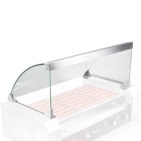 Olde Midway Glass Cover ONLY for Hot Dog 7 Roller Grill Cooker Machine - Replacement or Upgrade