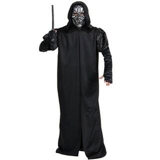 Rubies Death Eater Robe Adult Costume - Black - Standard
