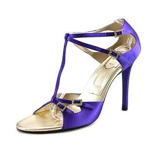 Roger Vivier Sandal Goldie T.100 Open Toe Canvas Sandals