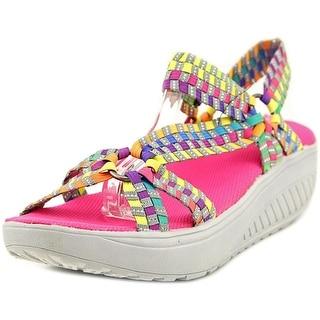 Corkys Quickstep Open-Toe Canvas Sport Sandal