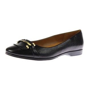 Naturalizer Womens Joyce Embellished Dress Round-Toe Shoes - 9.5 wide (c,d,w)