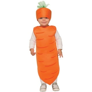 Forum Novelties Carrot Toddler Costume - Orange