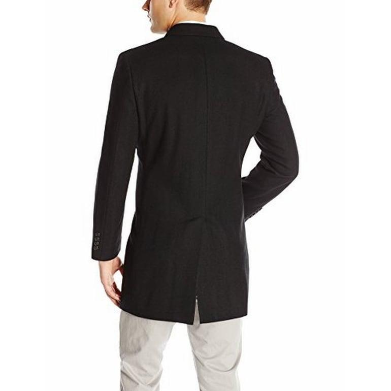 Kenneth Cole New York Mens Elan Wool Top Coat