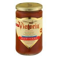 Victoria Marinara Sauce - Low Sodium - Case of 6 - 24 Fl oz.
