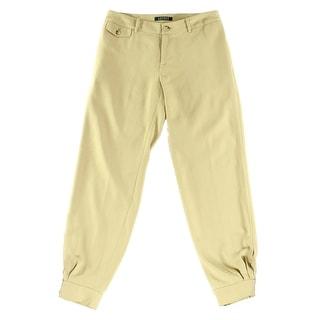 Lauren Ralph Lauren NEW Beige Tan Women's Size 8 Tapered Dress Pants