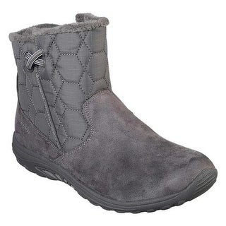 Skechers Women S Relaxed Fit Reggae Fest X Dames Mid Calf Boot Charcoal