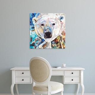 Easy Art Prints James Grey's 'Polar Bear' Premium Canvas Art