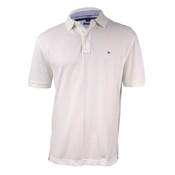69a56e99 Shop Tommy Hilfiger Men's Classic-Fit Ivy Polo (L, Ivory) - Ivory - L -  Free Shipping On Orders Over $45 - Overstock - 17616600