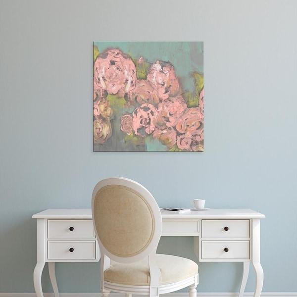 Easy Art Prints Jennifer Goldberger's 'Blush Pink Flowers II' Premium Canvas Art