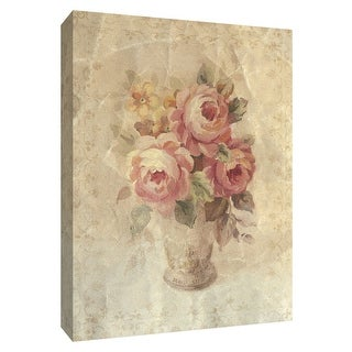 """PTM Images 9-154562  PTM Canvas Collection 10"""" x 8"""" - """"Faded Pink Roses"""" Giclee Roses Art Print on Canvas"""