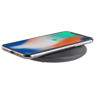 LAX 10W Fast Wireless Charging Dock - 7.5W Fast Charging for iPhone X / 8 Samsung Phones Fast Speed