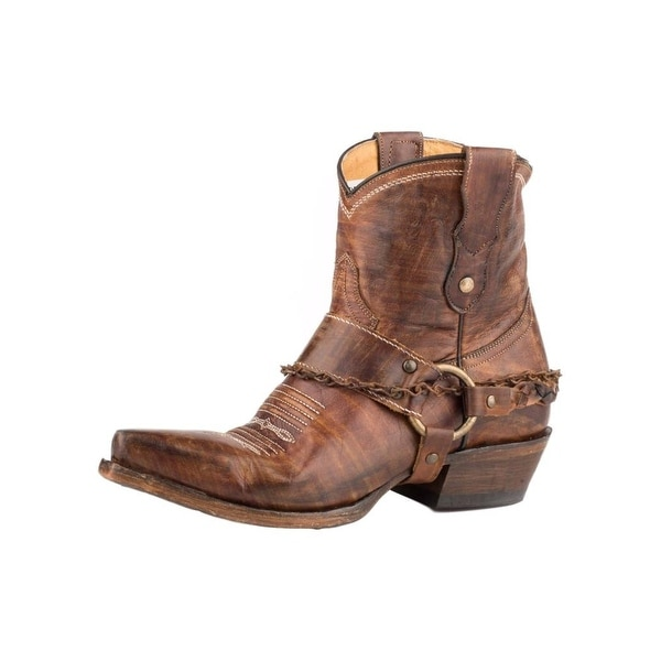 297e51d9e27f3 Roper Western Boots Womens Selah Leather Brown