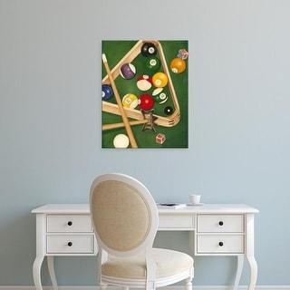 Easy Art Prints Jennifer Goldberger's 'Rack'em Up II' Premium Canvas Art