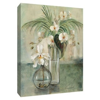"""PTM Images 9-154227  PTM Canvas Collection 10"""" x 8"""" - """"Silver Orchid III"""" Giclee Orchids Art Print on Canvas"""