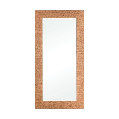 Cowling Lane - 67 Inch Rectangular Mirror Natural Cork/Mirror/Mirror Finish - Natural Cork/Mirror/Mirror