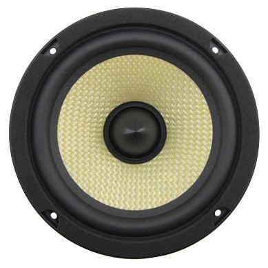 "Lanzar Upgraded Opti Pro 6.5"" High Power Coaxial Speaker - Powerful 400 Watt Peak 65Hz – 7 kHz Frequency Response"