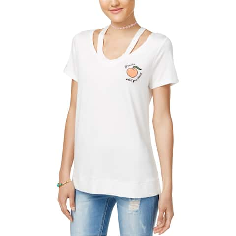 Miss Chievous Womens Practice What You Peach Graphic T-Shirt