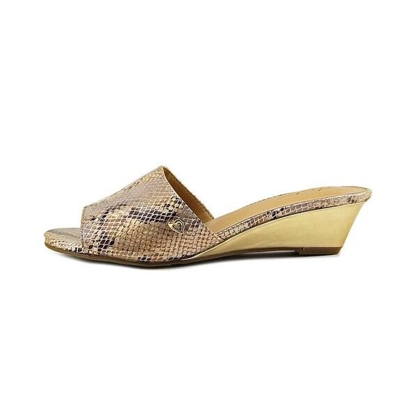 Thalia Sodi Womens Riya Fabric Open Toe Casual Mule Sandals