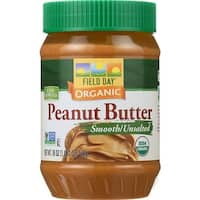 Field Day - Smooth & Unsalted Peanut Butter ( 12 - 18 OZ)