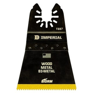 Imperial Blades IBOAT337-3 18T Universal Blade BM TiN STORM, 2-1/2""