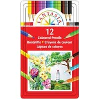 Fantasia Color Pencil Tin 12/Pkg-