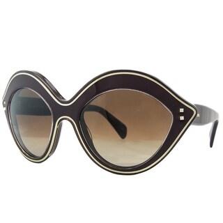 Valentino V689/S 642 Rubin Oval Sunglasses