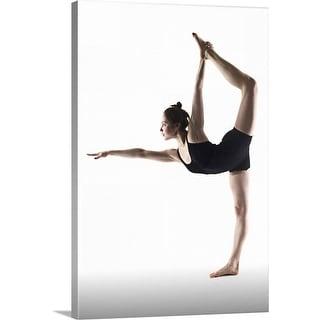 """Yoga pose"" Canvas Wall Art"