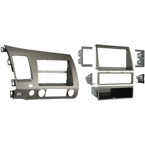 Metra 99-7871T 2006-2011 Honda(R) Civic Single- Or Double-Din Installation Kit