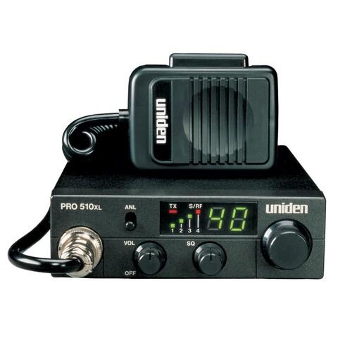 Uniden Pro510XL Cb Radio With 7 Watt Audio Output - PRO510XL