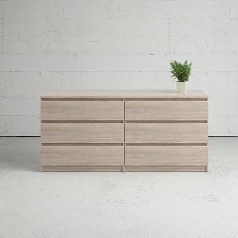 Porch & Den McKellingon 6-drawer Double Dresser