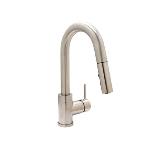 Bar/Small Kitchen Faucet, PVD SN - For 1 Hole Installation