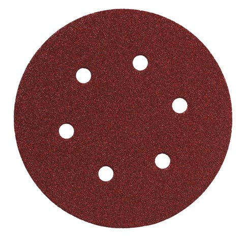 "Metabo 624024000 Hook And Loop Sanding Discs, 6"", 120 Grit, 25 Piece"