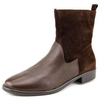 Aerosoles ` Women  Round Toe Leather Brown Ankle Boot