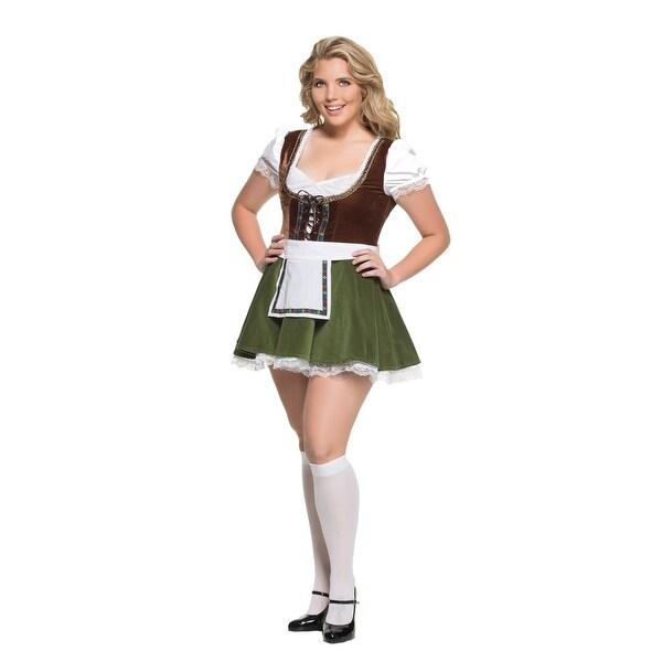 Women's Plus Size Bavarian Girl Costume