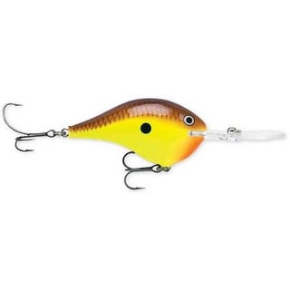 Rapala DT Series 3/5 Chartreuse Brown