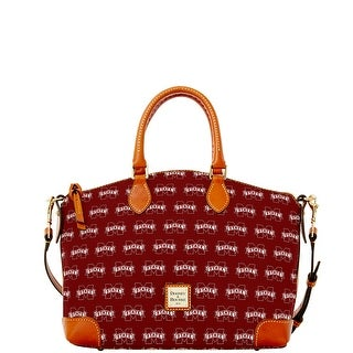 Dooney & Bourke NCAA Mississippi State Satchel (Introduced by Dooney & Bourke at $248 in Jul 2015) - Rouge