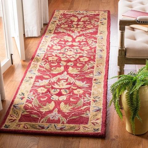 Safavieh Handmade Anatolia Flossie Traditional Oriental Hand-spun Wool Rug