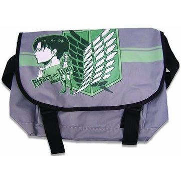 Attack On Titan Levi Messenger Bag - gray