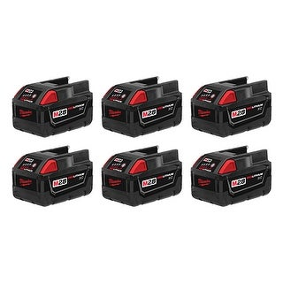 Replacement 3000mAh Battery for Milwaukee 0721-20 / 0730-22 Battery Models (6 Pk)