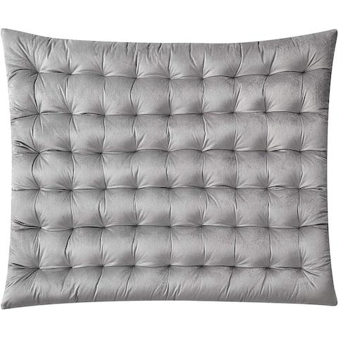 Rainha Cushion Tufted Velvet College Headboard