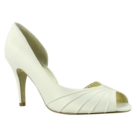 Adrianna Papell Womens Flynn Ivory Sandals Size 10
