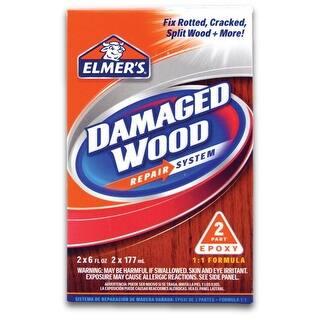 Elmer's E761Q Damaged Wood Repair System, 6 Oz|https://ak1.ostkcdn.com/images/products/is/images/direct/ee6de36616956c738da0596e2cc8f26c153ca860/Elmer%27s-E761Q-Damaged-Wood-Repair-System%2C-6-Oz.jpg?impolicy=medium