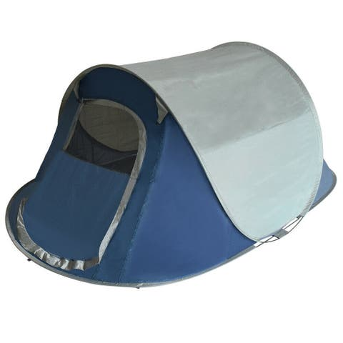Eurmax Pop Up Camping Tent Instant Folding Tent Family Tents - 5x8ft