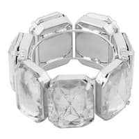 Plastic Rhinestone Meal Lunch Napkin Serviette Tissue Holder Ring Loop Hoop