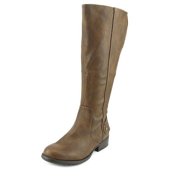 Life Stride Xandy Wide Calf Dk Tan Wshsr Boots