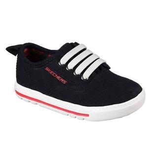Skechers 96366N BLK Boy's Toddler LIL LAD - TAXEN Sneaker