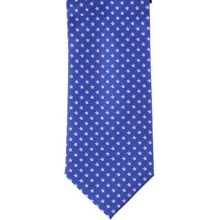 Link to Tommy Hilfiger Mens Doubly Distinct Self-tied Necktie, blue, One Size - One Size Similar Items in Ties