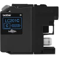 """Brother LC201C Brother Innobella LC201C Ink Cartridge - Cyan - Inkjet - Standard Yield - 260 Page - OEM"""